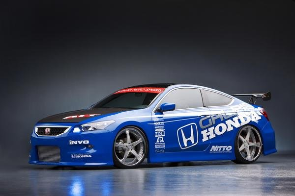 Lowered Honda Accord Coupe 2008 Honda Accord Coupe by
