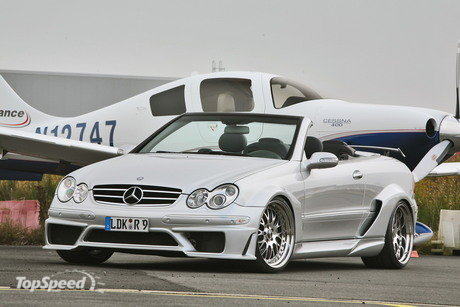 mercedes clk cabrio by inden design. For those folks who want to transform