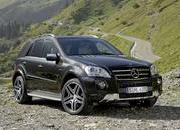 Mercedes ML 63 AMG Performance Studio