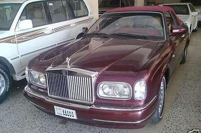 Saddam Hussein's Rolls-Royce Corniche for sale