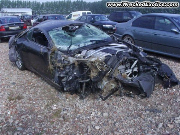 Stolen Aston Martin Db9 Crashed Picture 272675 Car