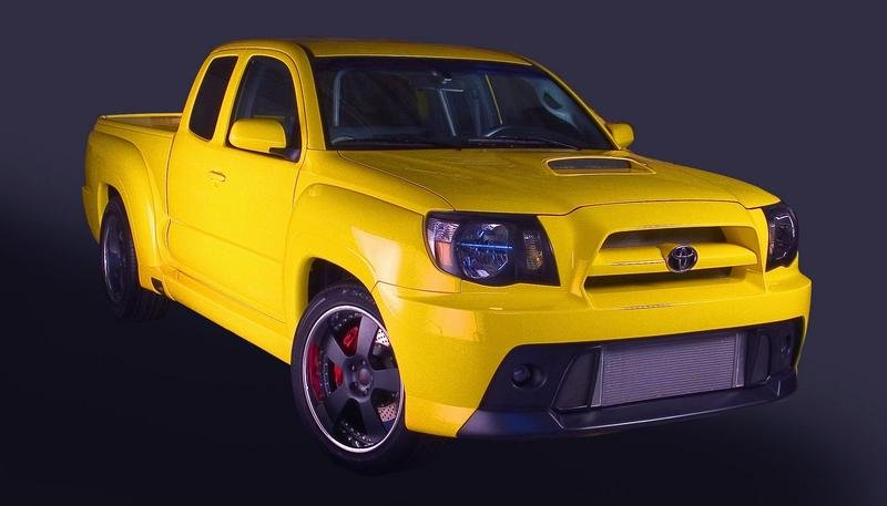 2008 Toyota TRD Tacoma X-Runner Concept