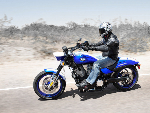 2009 Victory Hammer S | motorcycle review @ Top Speed