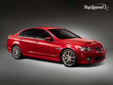 Pontiac today announced pricing on the 2009 G8 GXP Sport sedan.