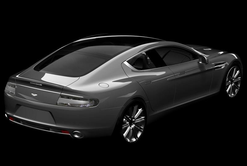 2010 Aston Martin Rapide - another official rendering