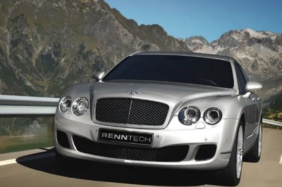 Bentley Continental GT Speed and Flying Spur Speed by Renntech