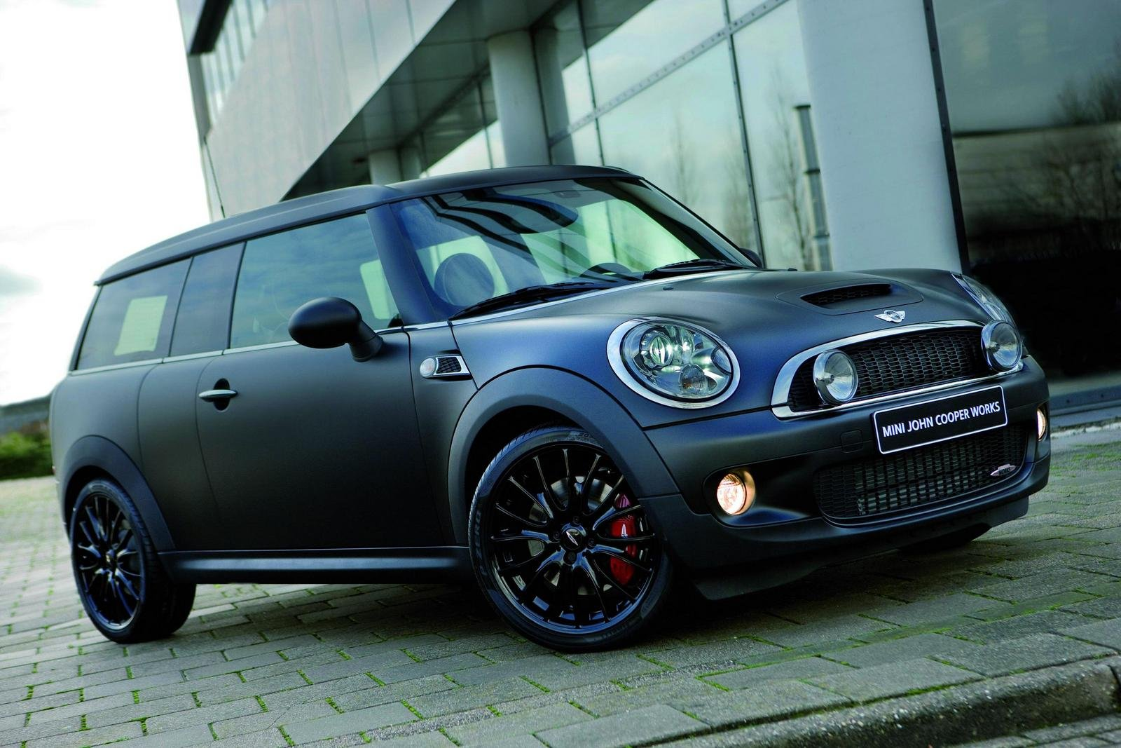 Mini cooper s matte black viewing gallery