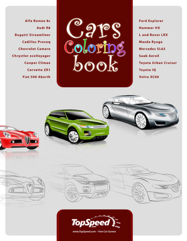Car Coloring Books News