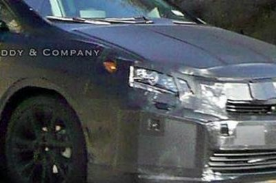 First spy shot of the Lexus HS 250h