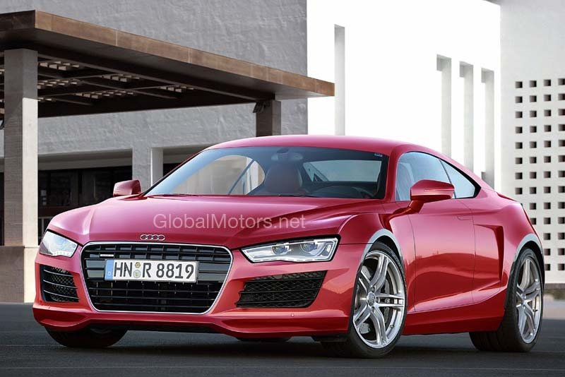 future audi r6 rendering news top speed. Black Bedroom Furniture Sets. Home Design Ideas