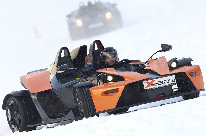 KTM X-Bow gets winter package