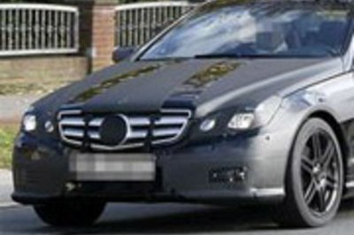 Mercedes CE - best spy shots ever