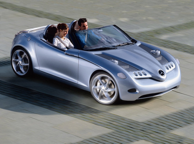 Mercedes considering two-seat roadster based on the A-Class
