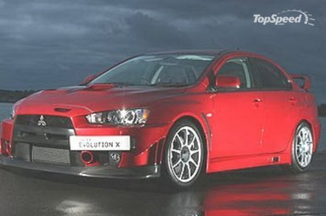 From the 'It's Better in Europe' file comes the Mitsubishi Evo X FQ-400.