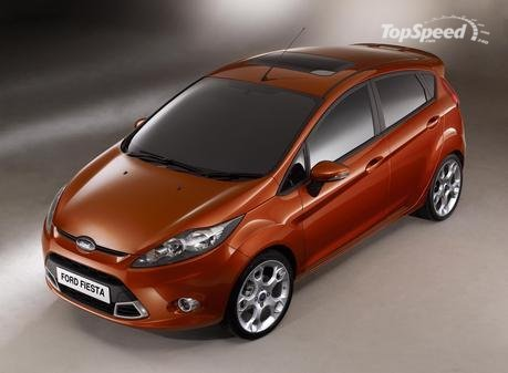 Ford Fiesta Rs 2009. the all-new Ford Fiesta is