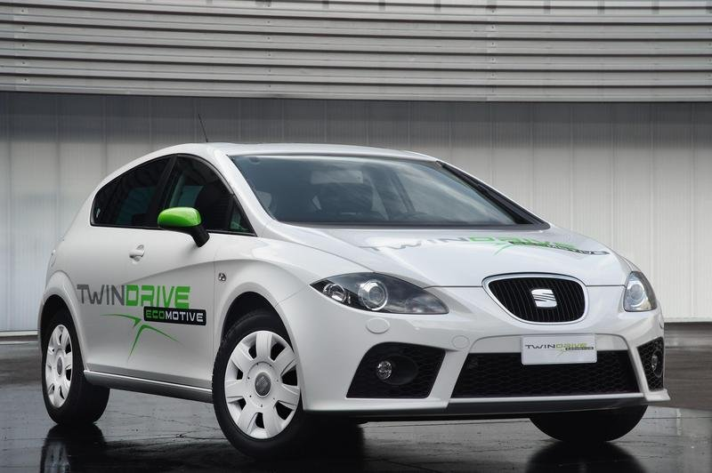2009 Seat Leon Twin Drive Ecomotive project