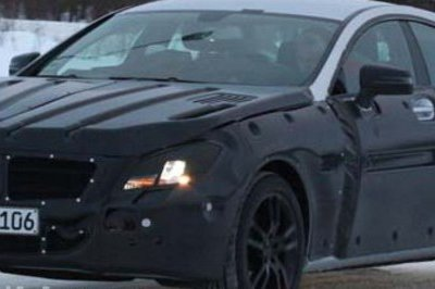 2011 Mercedes CLS spied again