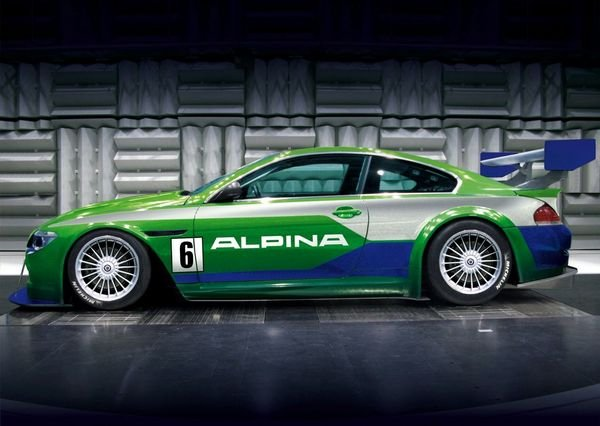 alpina will unveil b6 gt3 in geneva picture