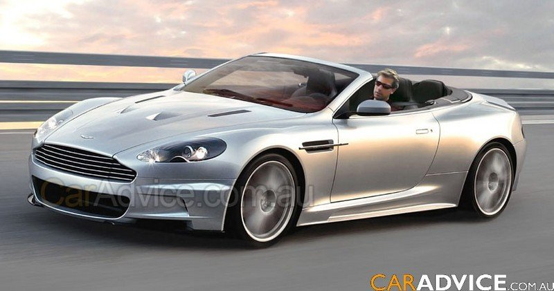 Aston Martin DBS Volante coming to Geneva