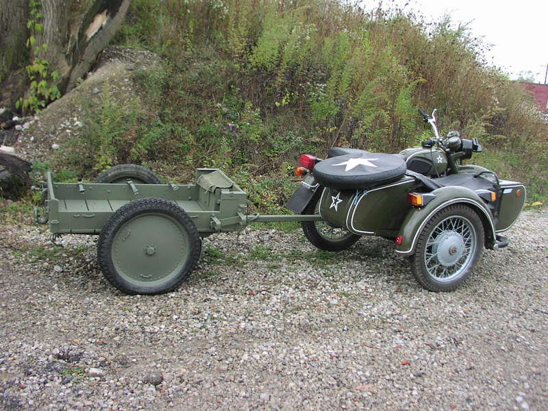 eBay find of the day: WWII Military Motorcycle cargo trailer