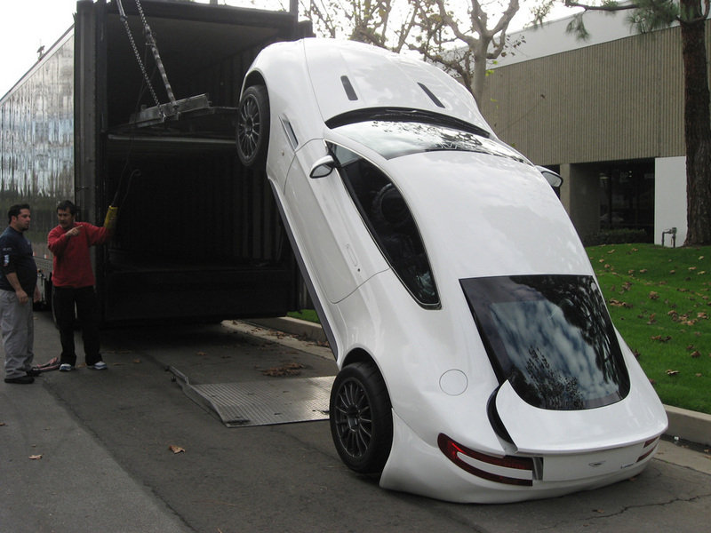 How NOT to deliver an Aston Martin