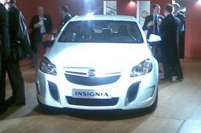 Opel Insignia OPC ready for its debut