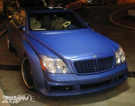 Maybach 57 S. maybach 57s by fab design
