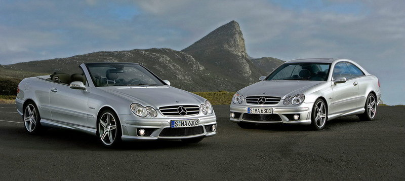Mercedes CLK's days are numbered