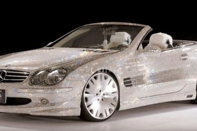 Mercedes Benz SL600 by Swarovski