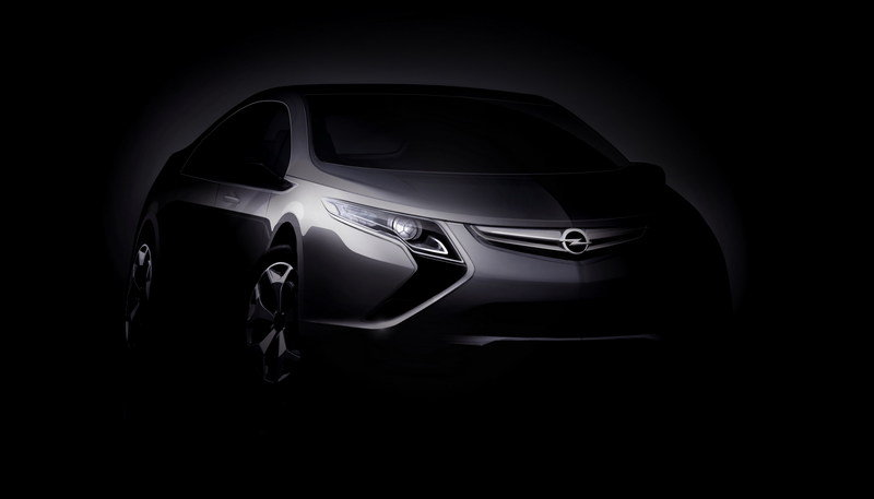 Opel Ampera Electric to debut in Geneva