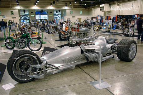 My Motorcycles News  The Blastolene Hemi powered trike would make