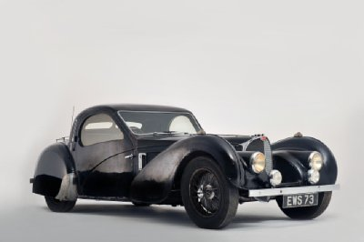 Ultra-rare Bugatti barn find going up for auction