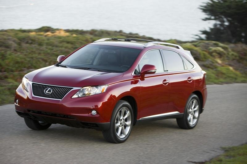 2010 RX 350 US pricing announced