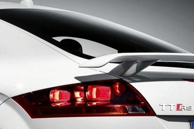 Audi TT-RS - first teaser images and exhaust sound
