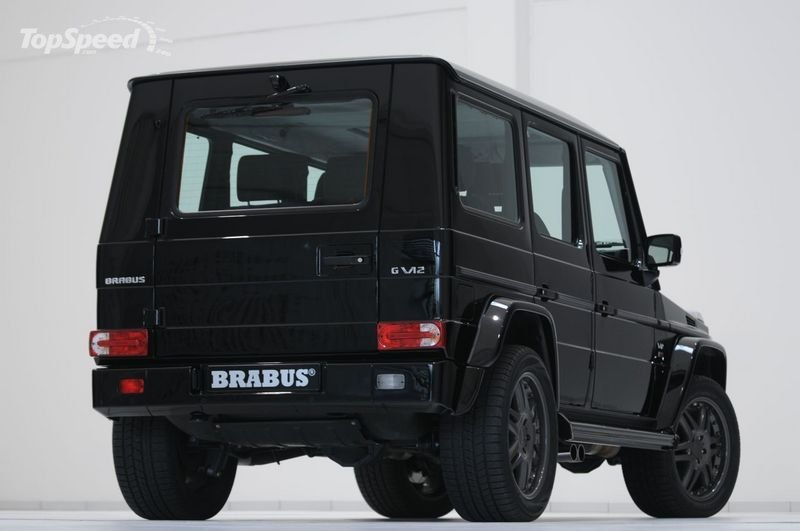 Brabus g v12 s biturbo based on the mercedes benz g55 amg for Mercedes benz g wagon v12