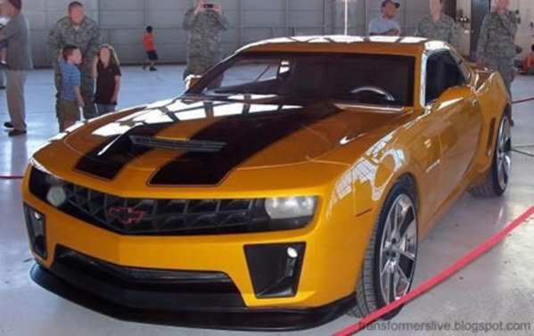 Bumblebee Camaro To Debut In Chicago News Top Speed