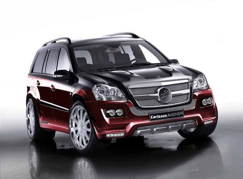 Carlsson Aigner CK55 RS Rascasse based on the Mercedes-Benz GL 500