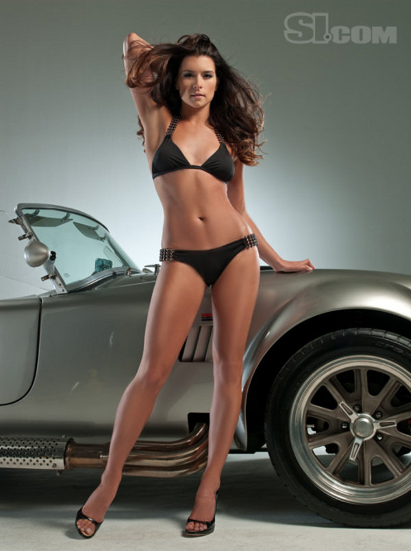 Danica Patrick And Shelby Cobra Sports Illustrated