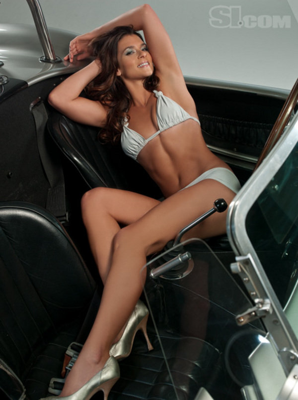 Danica Patrick And Shelby Cobra - Sports Illustrated Swimsuit - Picture 285119 | car News @ Top ...