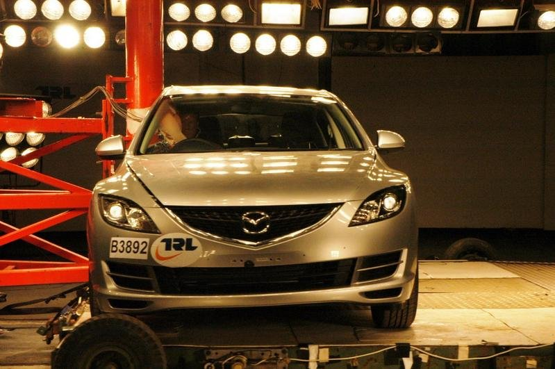 Five EuroNCAP stars for 2009 Mazda6