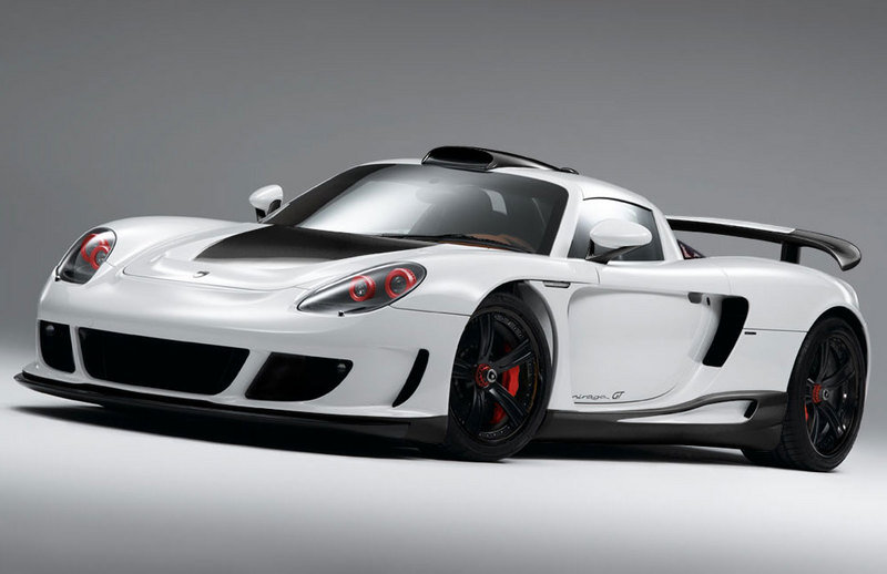 Gemballa Mirage GT Carbon Edition based on the Porsche Carrera GT