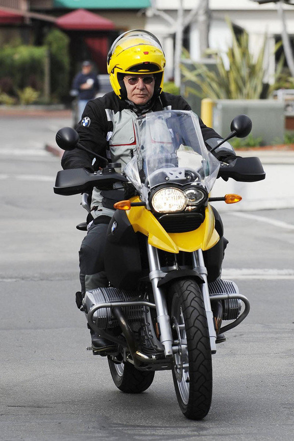 harrison ford rides a bmw picture