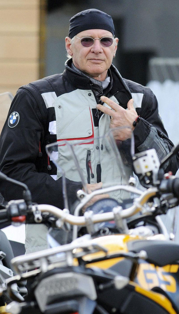 Harrison Ford Rides A Bmw Picture 286389 Motorcycle