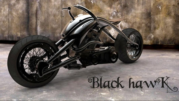 Innovative Motorcycle Concept The Black Hawk Motorcycle
