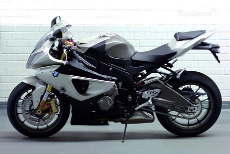 2009 BMW S1000RR Side View