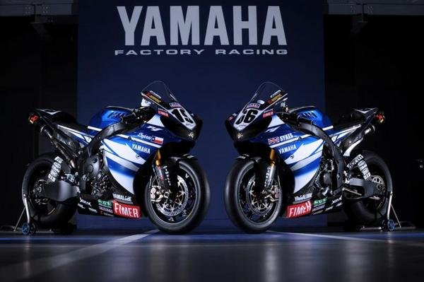 yamaha wsbk 2009 colors unveiled picture