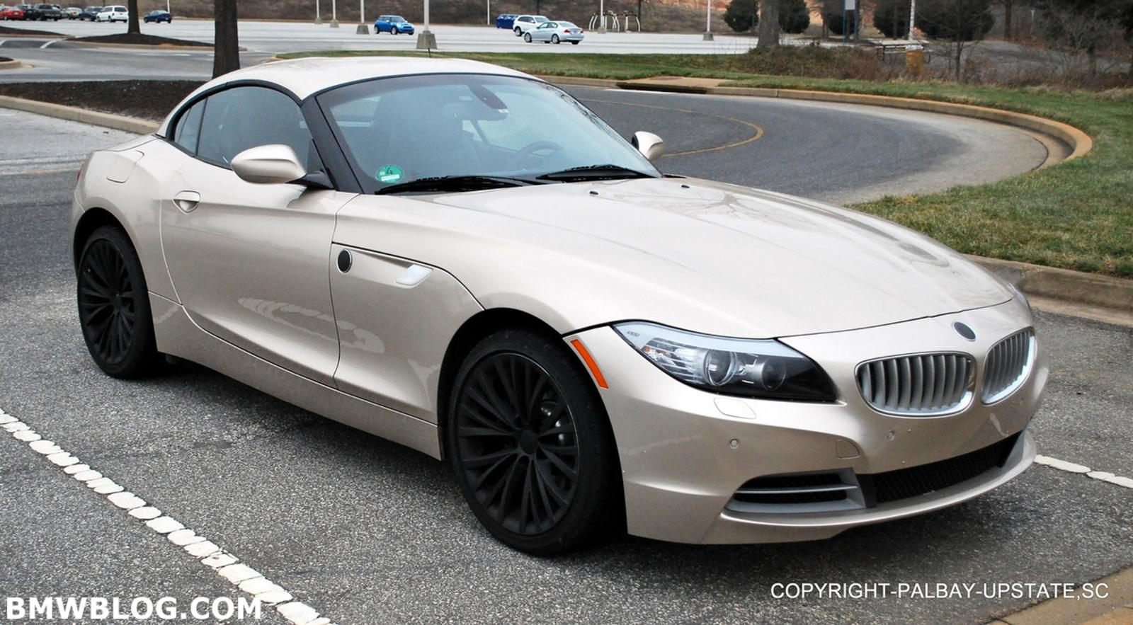 New Bmw Z4 Caught In U S News Top Speed