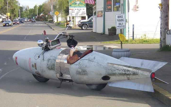 Is This The Most Aerodynamic Motorcycle Ever Or What