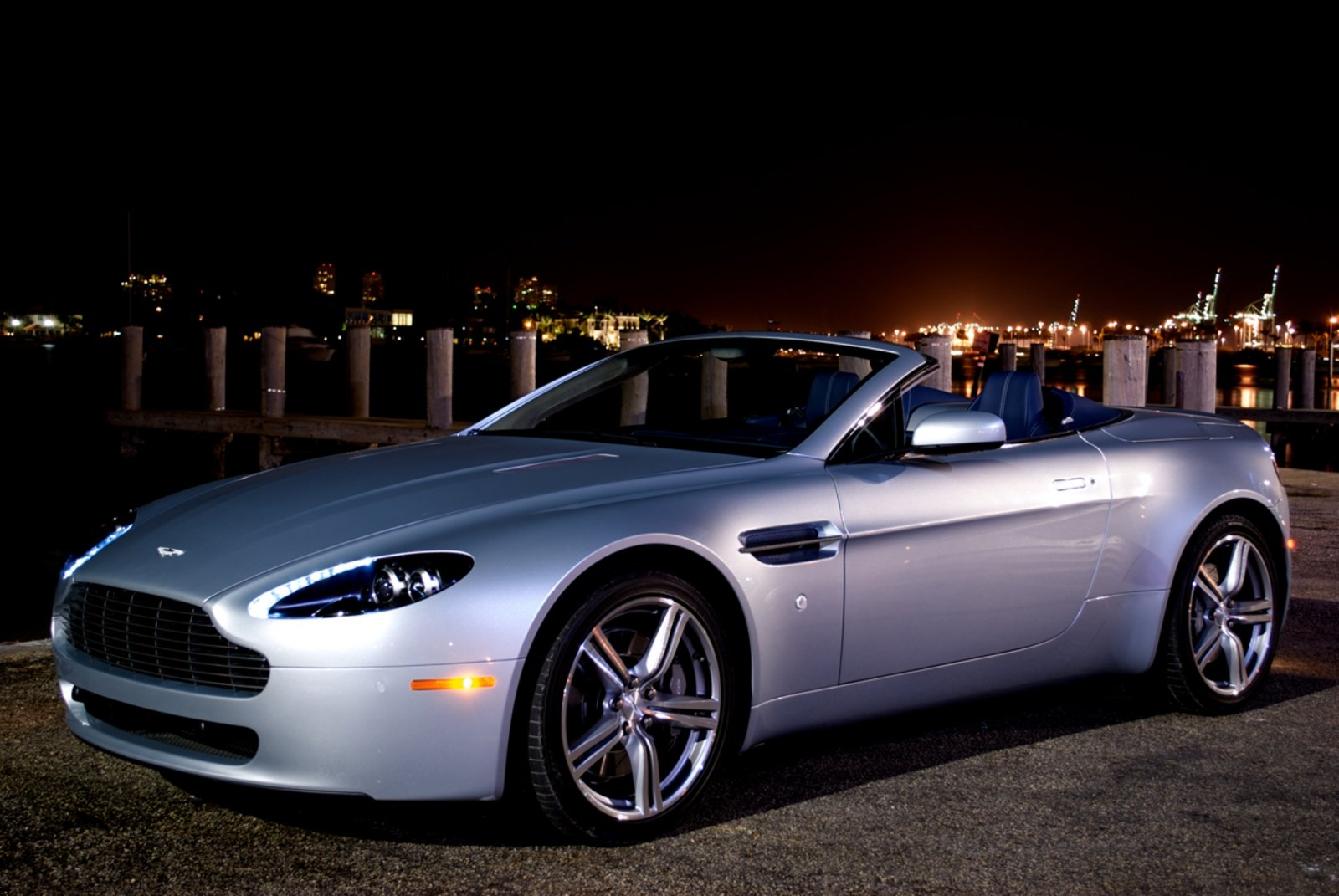 2009 Aston Martin V8 Vantage Roadster Review - Top Speed