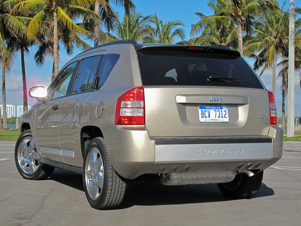 2009 jeep compass limited car review top speed. Black Bedroom Furniture Sets. Home Design Ideas